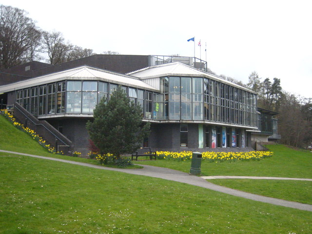 Pitlochry Festival Theatre cc-by-sa/2.0 - © Rod Allday - geograph.org.uk/p/4769219